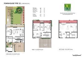 3 Bedroom Villa Floor Plans by Floor Plans Hemaim