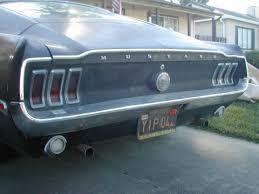 1968 mustang rear end vossen wheels photo shoot 370z nismo slammed on vossen cv1