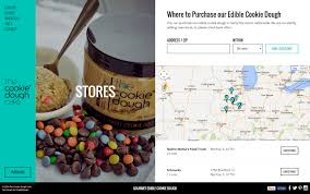 Map Store The Cookie Dough Cafe Responsive Wordpress Daddy Design