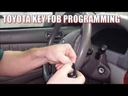 toyota car and remotes how to program 2000 2006 toyota camry remote key fob