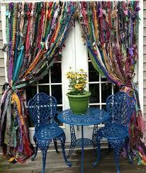 handmade window treatments best 25 rag curtains ideas on pinterest scrap fabric curtains