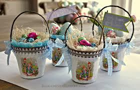 bunny basket eggs a diy craft rabbit easter egg basket fox hollow