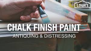 can i use chalk paint to paint my kitchen cabinets how to use chalk finish paint antiquing and distressing tips