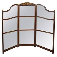 Four Panel Room Divider Amazing Mirrored Folding Screen Room Divider 7 Dividers