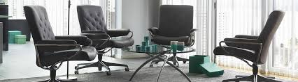 office chairs ergonomic leather office chairs from stressless