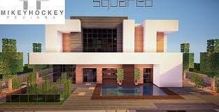 modern house building squared modern home design building ideas patio pool minecraft