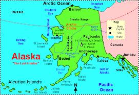 alaska major cities map alaska facts map and state symbols enchantedlearning