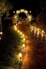 Install Landscape Lighting - how to install landscape lighting with wedding design dugas