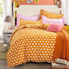 orange bed linen duvet covers tokida for