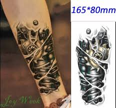 tattoo bulu 3d online shop waterproof temporary tattoo sticker 3d halloween bone