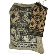 passover plagues bag authentic plagues bag in burlap bag the original