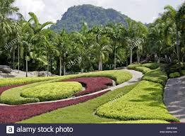 Nong Nooch Tropical Botanical Garden by Park Nong Nooch In Thailand Stock Photos U0026 Park Nong Nooch In