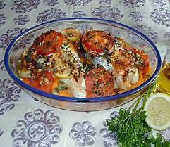 cuisine au four recette de poisson au four à la marocaine