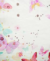 aliexpress com buy table tissue napkins paper printed butterfly