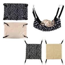 polyester pet rabbit ferret chinchilla cat hammock bed cover bag