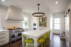contemporary kitchen wallpaper ideas black white coated wallpaper as backsplash solid and marble