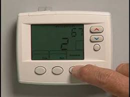programming an emerson 1f80 thermostat youtube