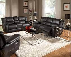 Black Leather Reclining Sofa 15 Leather Reclining Sofa And Loveseat Set Carehouse Info