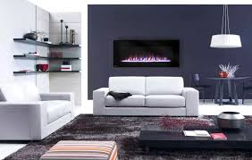 modern wall mounted fireplaces allmodern living room with wall