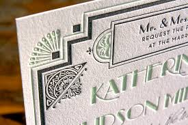 gatsby wedding invitations great gatsby inspired deco wedding invitations