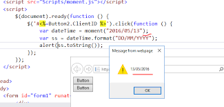 format date javascript jquery convert date in given date format using javascript only the asp