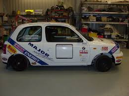 nissan micra race car drives available major motorsport ltd
