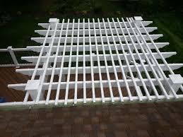 vinyl aluminum pergola kits decks u0026 fencing contractor talk