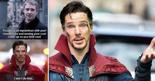 Cumberbatch Otter Meme - 15 hilarious doctor strange memes that have us on the floor laughing