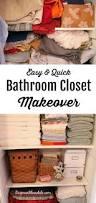 before and after blue cottage bathroom closet makeover best