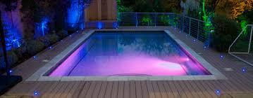 lighting around pool deck led decking lights energy efficient lighting solution