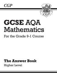new gcse maths aqa answers for workbook higher for the grade 9