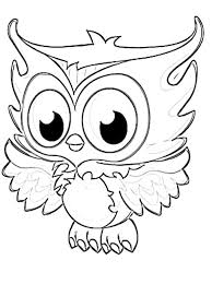 free monster baby cartoon monster coloring pages