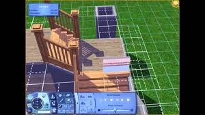 l shaped house plans with pool in middle the sims 3 tutorial l shaped stairs youtube