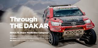 toyota stock symbol toyota global site motorsport dakar rally 2016