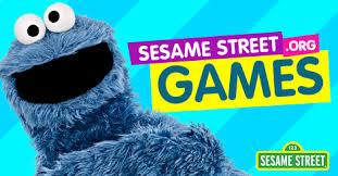 play fun games kids sesame street