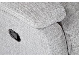 Black Fabric Reclining Sofa by 2 Seater Grey Fabric Reclining Sofa Leona