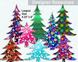 Decorative Pine Trees Pine Tree Graphics Etsy
