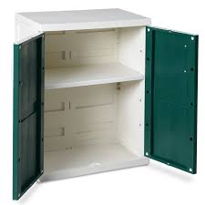 Rubbermaid Storage Cabinet With Doors Ideas Plastic Rubbermaid Storage Cabinet Design Ideas With Green