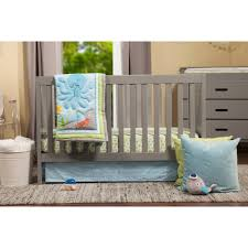 Nursery Furniture Set by Baby Mod Modena 3 In 1 Convertible Crib Gray Walmart Com