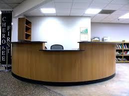 Front Reception Desk Designs Desk Cool Orthodontic Office Reception Desk 62 Furniture Design