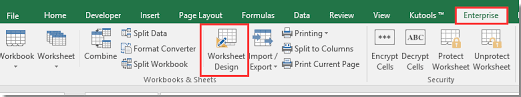 quickly hide or unhide formulas when protecting a worksheet