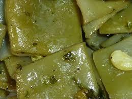 cuisiner des haricots plats haricots plats au beurre et au persil le sachet d épices