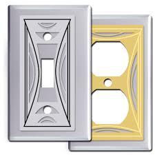 modern light switch covers modern switch plates dosgildas com