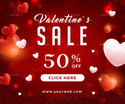 valentines banner valentines day sale banners by infinite78910 graphicriver