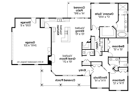 Craftsman Ranch Floor Plans Story House Plans With Porches On Ranch Style Open Floor House Plans