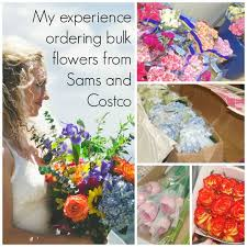bulk flowers wedding flowers hack order bulk flowers from sams and costco and