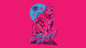 halloween vaporwave background hotline miami wallpaper 1366x768 free wallpapers download for