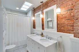 Bathroom Beadboard Height - lights on brick wall kitchen victorian with double height