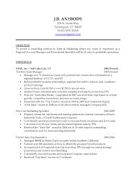 Insurance Sales Representative Resume Cover Letter Resume Sales Objective Resume Objective Sales Clerk