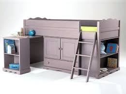 bureau sous lit mezzanine bureau lit mezzanine lit mezzanine combine tendance le lit
